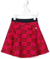 Kenzo mini me Love print skirt