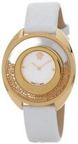 Versace Women's Small Destiny Spirit Croc Embossed Watch