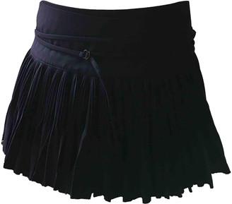 Jean Paul Gaultier Navy Wool Skirts