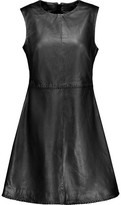 Muu Baa Muubaa Leather Mini Dress