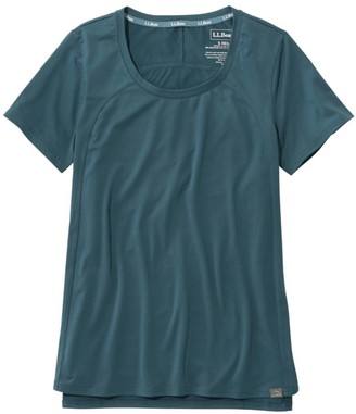 L.L. Bean Women's All Day Active Tee, Short-Sleeve