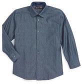 Michael Kors Denim Dress Shirt (Big Boys)