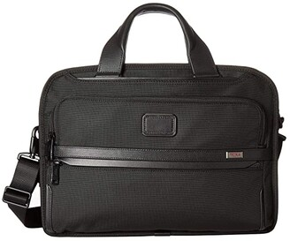 Tumi Alpha 3 Triple Compartment Brief (Black) Luggage