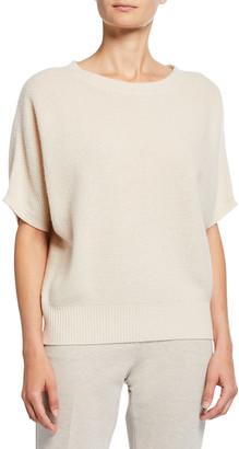 Max Mara Dalila Cashmere Flutter-Sleeve Sweater