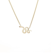 Ariel Gordon Snake Charm Necklace