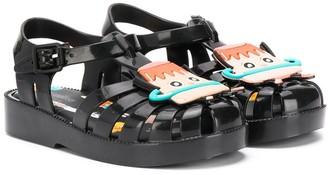 Mini Melissa cutout sandals