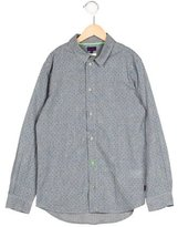 Paul Smith Boys' Planet Print Button-Up Shirt