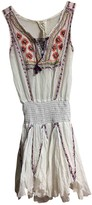 Free People White Cotton Dresses