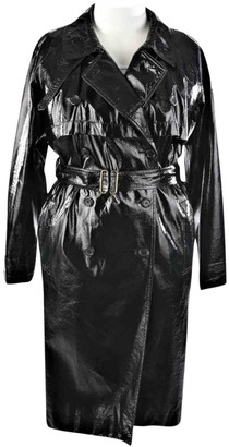 Saint Laurent Black Trench Coat for Women