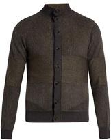 Giorgio Armani Button-down Striped Cardigan