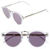 Karen Walker Women's X Monumental 49Mm Polarized Sunglasses - Black