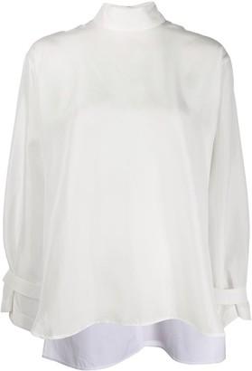 Jejia Oversize Backwards Shirt