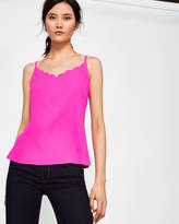 Ted Baker Scalloped neck cami