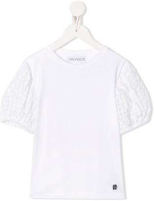 Simonetta quilted short-sleeve T-shirt