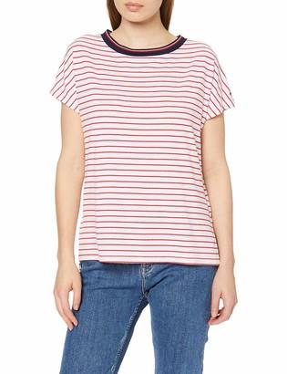 Tommy Jeans Women's Stripe Knit Long Sleeve Crew Neck T-Shirt