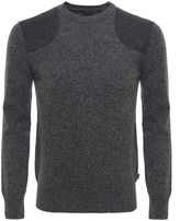 Barbour Abraham Moon Flecked Lambswool Jumper