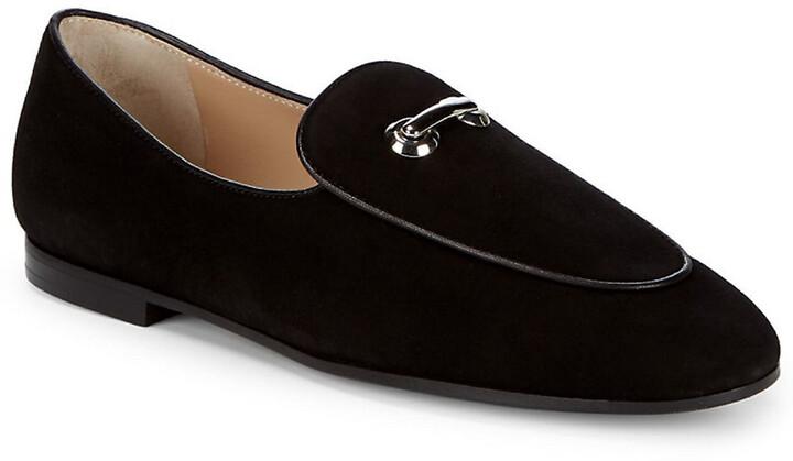 Giuseppe Zanotti Slip-On Leather Loafers