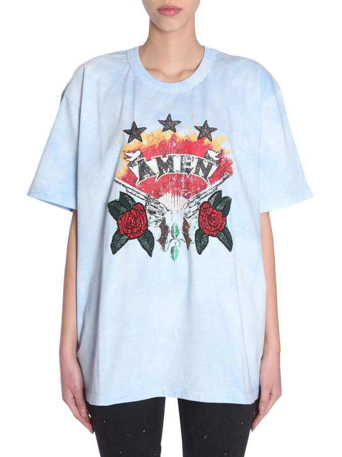 Amen Oversize Fit T-shirt