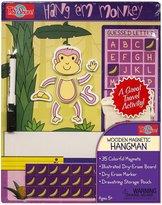 T.S. Shure Hang'Em Monkey Wooden Magnetic Hangman Board Game