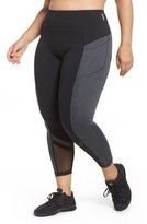 Zella Plus Size Women's Mega Block Midi Leggings