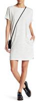 Max Studio French Terry Pocket Dress (Petite)