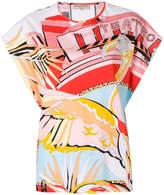 Emilio Pucci Teatro print T-shirt