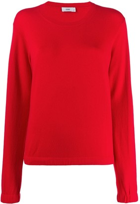 Closed relaxed-fit crew neck jumper
