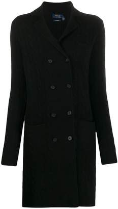 Polo Ralph Lauren double-breasted cardi-coat