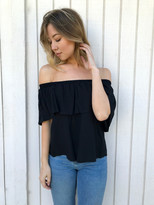 Tysa Tulum Top In Black