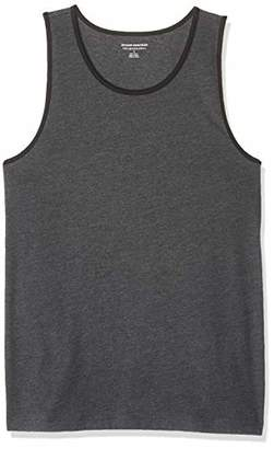 Amazon Essentials Slim-fit Ringer Tank Top T-Shirt,(EU XXXL-4XL)
