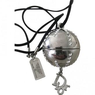 Christian Dior Silver Metal Pendants