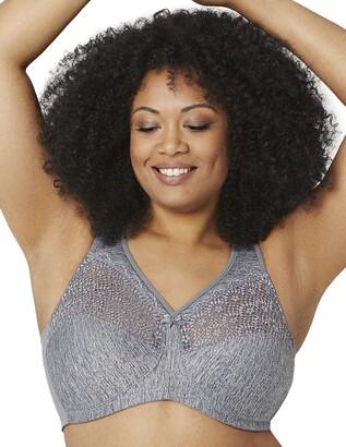 Glamorise Women's Full Figure MagicLift Comfort Bra with Posture Back #1064 Full Cup Full Coverage Bra