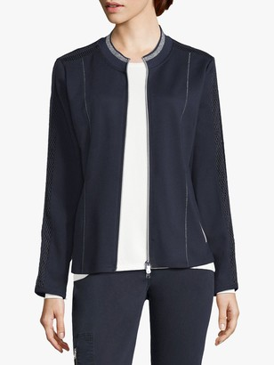 Betty Barclay Embellished Cardigan, Dark Sky