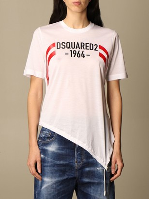 DSQUARED2 T-shirt Cotton T-shirt With 1964 Logo