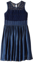 Ella Moss Mariam Sleeveless Crochet Dress (Big Kids)