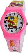 Nickelodeon SpongeBob SquarePants Wrist Watch For Children Boy's Girls . Large Watch Display.