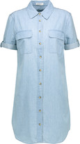 Equipment Slim Signature cotton-chambray shirt dress