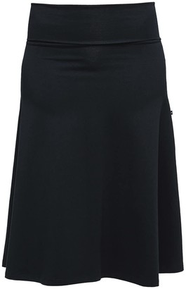 Non+ Non577 Knee Length Skirt With Turn Down Waist