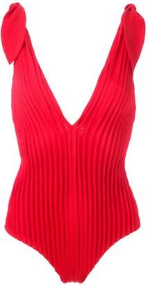 Adriana Degreas textured swimsuit