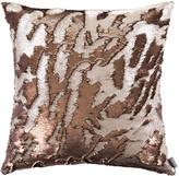 Aviva Stanoff Two Tone Mermaid Sequin Cushion - Bronze - 50x50cm