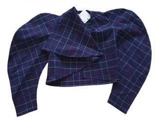 Awake Blue Cotton Jackets