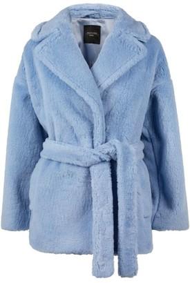 Max Mara Faux Fur Ramino Coat