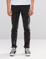 Weekday Friday Skinny Jeans Nas Black
