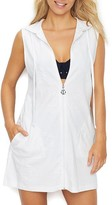 Dotti Sail Away Anchor Hooded Cover-Up