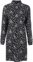 Saint Laurent star print shirt dress