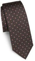Dolce & Gabbana Medallion-Printed Silk Tie