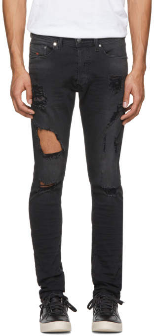Diesel Black Tepphar Jeans