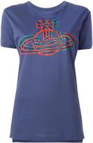 Vivienne Westwood logo print T-shirt - women - Cotton - XS