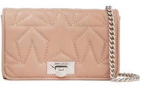 Jimmy Choo Quilted Leather Clutch