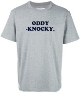Sacai Oddy Knocky T-shirt - men - Cotton - 1